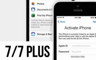 Разблокировка Icloud iPhone 7/7 plus