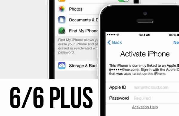 Разблокировка Icloud iPhone 6/6 plus