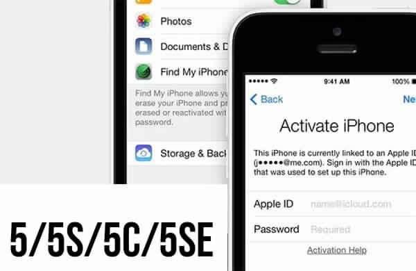 Разблокировка Icloud iPhone 5/5s/5c/5se