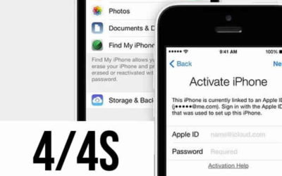 Разблокировка Icloud iPhone 4/4s