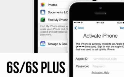 Разблокировка Icloud iPhone 6s/6s plus